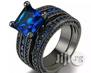 Blue Stone Women Bride Ring Set | Jewelry for sale in Lagos State, Alimosho