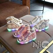 Beautiful Baby/Toddler LED Canvas | Children's Shoes for sale in Lagos State