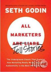 All Marketers Tells Stories By Seth Godin | Books & Games for sale in Lagos State, Surulere