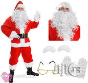 DELUXE 10 PIECE Santa Claus Suit With Bag | Clothing for sale in Lagos State, Amuwo-Odofin