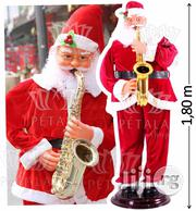 Saxophone Dancing Santa Claus Comes in S,M,L,XL | Musical Instruments & Gear for sale in Lagos State