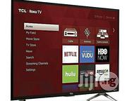 "TCL 49"" LED SMART TV - TCL Roku TV- LED + Free 500volts Step Down 