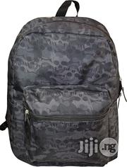 "Skull Print 16"" Backpack 