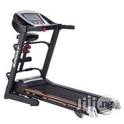 2hp Imported Treadmill With Massager And Dumbbells | Massagers for sale in Lagos State, Ojodu