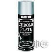 Abro Chrome Plate Spray Paint (ABRO | Building Materials for sale in Lagos State, Lagos Island