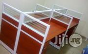 New Classy Office 4-man Workstation Table | Furniture for sale in Lagos State, Ikeja
