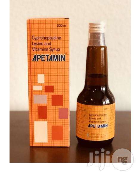 Apetamin Weight Gain Syrup(Vitamin Syrups That Promise Rapid Weight Gain