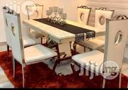 Executive Six Seater Royal Marble Dining Table Set | Furniture for sale in Lagos State, Lekki Phase 2