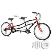 "Kent 26"" Northwoods Adult, 21-Speed Dual Drive Tandem Bike, Red/Black 