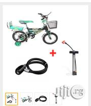 BMX Bicycle LMV Style + Steel Wire Rope Bicycle Lock + Hand Pump | Toys for sale in Lagos State, Lagos Island