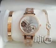 Micheal Kors (MK) Rose Gold Chain and Bangle for Women's | Jewelry for sale in Lagos State, Lagos Island
