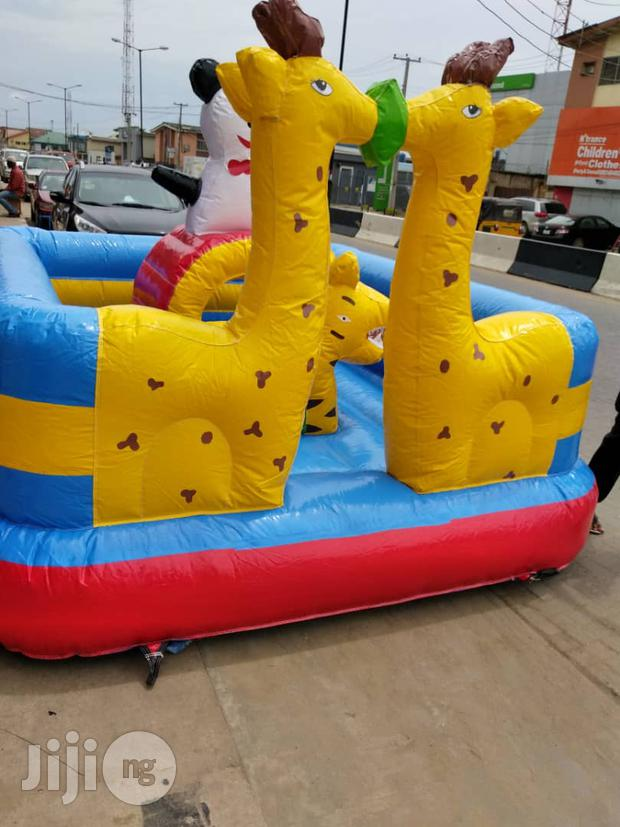 Outdoor Giraffe Bouncing Castle Available For Sale