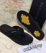 Dsquared Men's Black Pam's Slippers. | Shoes for sale in Lagos State, Surulere