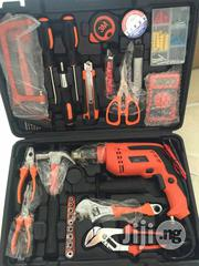 Portable Tools Box With Drill Machine | Hand Tools for sale in Lagos State, Lagos Island