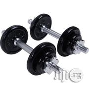 Tesco Cast Iron Weight Set 15kg | Sports Equipment for sale in Lagos State