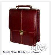 Men's Semi Briefcase - Brown | Bags for sale in Lagos State, Alimosho