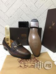 Brown ANAX Leather Shoe | Shoes for sale in Lagos State, Lagos Island