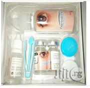 Complete Pack- Contact Lens, Solution, Case, Applicator | Skin Care for sale in Lagos State, Mushin