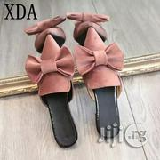 Women's Bow Tie Flat Cover Slippers | Shoes for sale in Lagos State