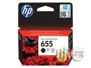 HP 655 Black Original Ink Advantage Cartridge   Accessories & Supplies for Electronics for sale in Lagos State, Ikeja