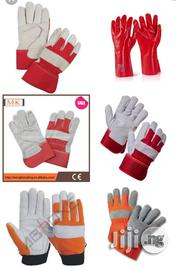 Rigger Tough Leather Palm Work Gloves | Safety Equipment for sale in Lagos State, Ikeja
