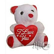 Generic Teddy Bear Valentine Gift I Love U White And Red   Toys for sale in Lagos State, Magodo