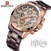 Naviforce Chain Chrono Wrist Watch. | Watches for sale in Lagos State, Lagos Island