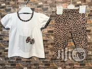 2-Piece Leopard Informed Outfit | Children's Clothing for sale in Rivers State, Port-Harcourt