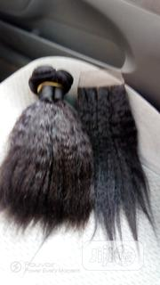 16 Straight Kinky Curls Human Hair | Hair Beauty for sale in Lagos State, Ojodu