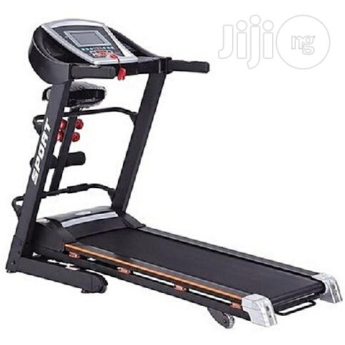 Generic Treadmill 2.5hp With Massage Sit-up & Dumbells