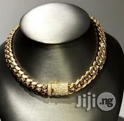 Original Stainless Steel Neck Cuban Choker | Jewelry for sale in Lagos State, Lagos Island