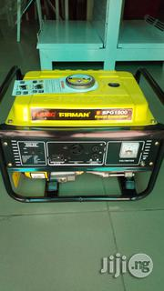 Sumec Firman SPG 1800 Petrol Generator | Electrical Equipment for sale in Abuja (FCT) State, Kubwa