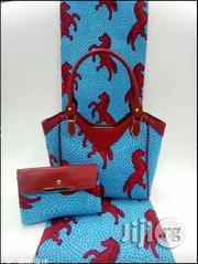 Gorgeous Ankara Bag With 6yards Wax And Purse | Bags for sale in Osun State, Osogbo