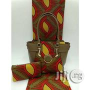 Gorgeous Ankara Bag With 6yards Wax and Purse Imported Xvii | Bags for sale in Osun State, Osogbo