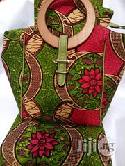 Well Designed Ankara Bags With 6yards Wax And Purse Viii | Bags for sale in Benue State, Gboko