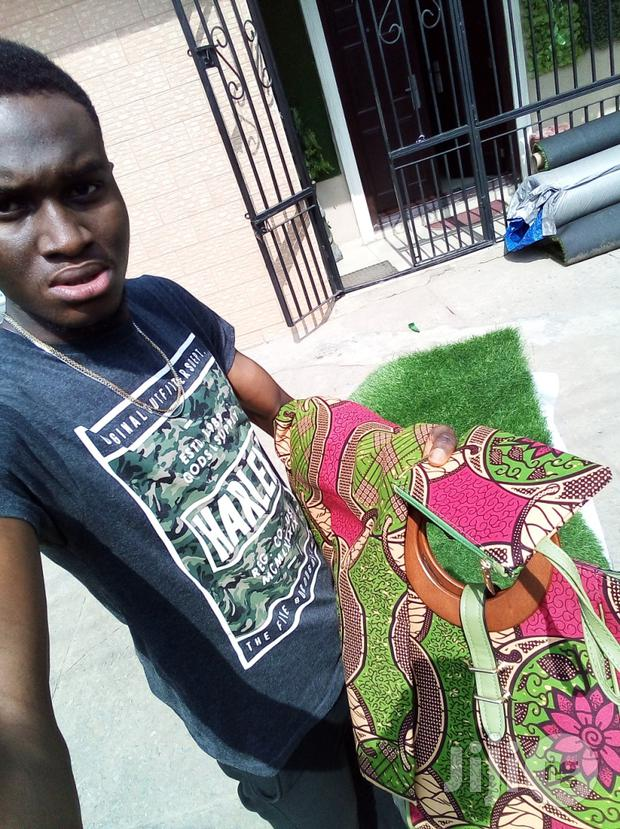 Get Your Imported Ankara Bags With 6 Yards Wax Fabrics And Purse