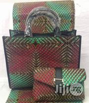 High Fabric 6yards Wax and Ankara Bag With Purse Imported Vii   Bags for sale in Imo State, Oguta