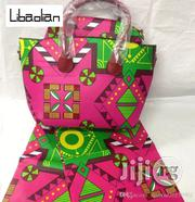 High Fabric 6yards Wax and Ankara Bag With Purse Imported Xi   Bags for sale in Imo State, Oguta