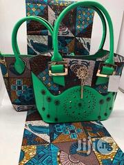 Fabricated Ankara Bags With 6yards Wax Purse All Imported Xvii | Bags for sale in Katsina State, Katsina