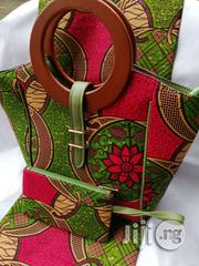 High Quality Imported Ankara Bags With 6yards Wax Purse | Bags for sale in Lagos State, Ikeja