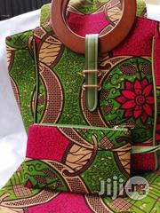 High Quality Imported Ankara Bags With 6yards Wax Purse Ii | Bags for sale in Lagos State, Ikeja