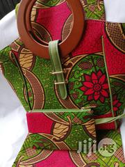 High Quality Imported Ankara Bags With 6yards Wax & Purse Iii | Bags for sale in Lagos State, Ikeja