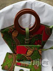 High Quality Imported Ankara Bags With 6yards Wax Purse Xii | Bags for sale in Akwa Ibom State, Uyo