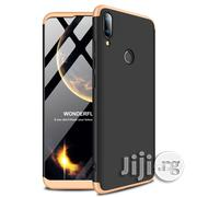Huawei Y9 360 Degrees Full Coverage Protective Back Case (Black + Gold) | Accessories for Mobile Phones & Tablets for sale in Lagos State, Ikeja