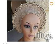 Auto Gele With Pearls And Stones | Clothing Accessories for sale in Lagos State