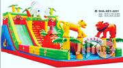 Giant Animal Farm Funcity Bouncing Castle With Slide | Toys for sale in Lagos State