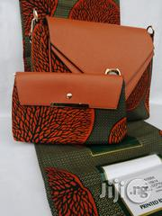 Fabric Bag With 6yrds Wax Purse on a Discount Price to Re-Seller/Bulk Buyers V | Bags for sale in Edo State, Benin City