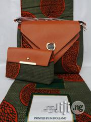 Fabric Bag With 6yrds Wax Purse on a Discount Price to Re-Seller/Bulk Buyers Xxvii   Bags for sale in Imo State, Owerri