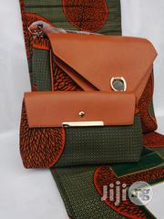 Fabric Bag With 6yrds Wax Purse on a Discount Price to Re-Seller/Bulk Buyers Xxix   Bags for sale in Imo State, Owerri