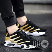 Fashion Elegant Designer Athletic Sneakers V2- Gold   Shoes for sale in Abuja (FCT) State, Central Business District